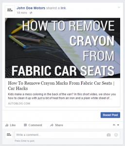 Curating FB Content5